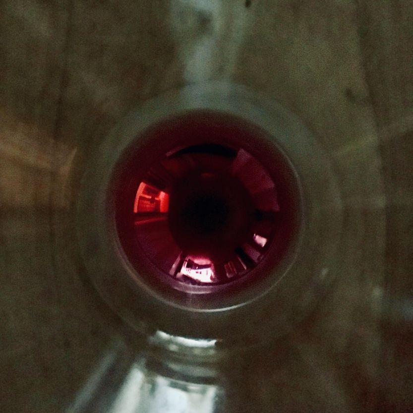 goccia vino bicchiere